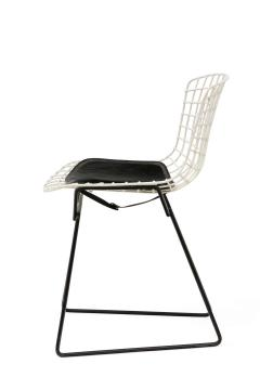 Harry Bertoia Harry Bertoia Childs Chairs in White with Original Knoll Seat Pads USA 1960s - 1604226