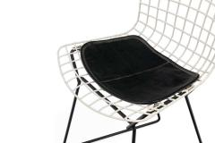 Harry Bertoia Harry Bertoia Childs Chairs in White with Original Knoll Seat Pads USA 1960s - 1604229
