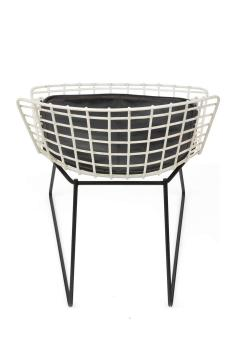 Harry Bertoia Harry Bertoia Childs Chairs in White with Original Knoll Seat Pads USA 1960s - 1604230