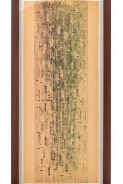 Harry Bertoia Harry Bertoia Framed Monoprint on Rice Paper USA 1960s - 1665773