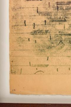 Harry Bertoia Harry Bertoia Framed Monoprint on Rice Paper USA 1960s - 1665774