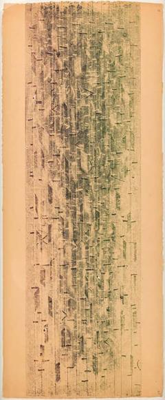Harry Bertoia Harry Bertoia Framed Monoprint on Rice Paper USA 1960s - 1666621