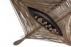 Harry Bertoia Harry Bertoia Hand Forged Silver Ebony and Silver Wire Pendant USA 1942 - 636929