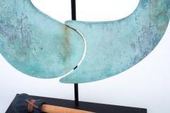 Harry Bertoia Harry Bertoia Patinated Bronze Gong - 296944