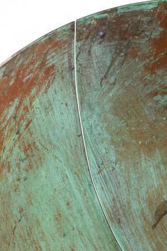 Harry Bertoia Harry Bertoia Patinated Solid Bronze Gong Sculpture - 1168948