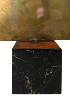 Harry Bertoia Harry Bertoia Silicon Bronze Brass Hollow Gong on Wood Base with Mallet 1972 - 1835495