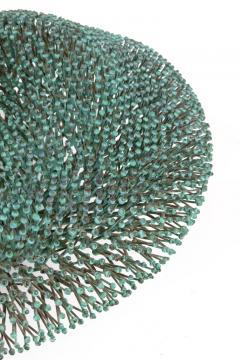 Harry Bertoia Harry Bertoia Welded Copper and Bronze Bush Sculpture with Applied Patina - 1087185