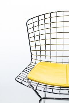 Harry Bertoia Harry Bertoia for Knoll Bar Stools in Custom Italian Parker Hotel Style Cushions - 2134815