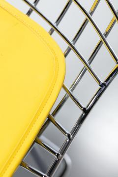Harry Bertoia Harry Bertoia for Knoll Bar Stools in Custom Italian Parker Hotel Style Cushions - 2134818