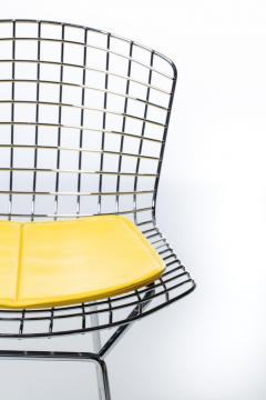 Harry Bertoia Harry Bertoia for Knoll Bar Stools in Custom Italian Parker Hotel Style Cushions - 2134829