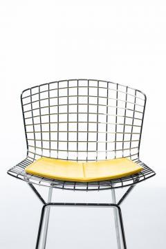 Harry Bertoia Harry Bertoia for Knoll Bar Stools in Custom Italian Parker Hotel Style Cushions - 2134830