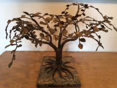 Harry Bertoia MODERNIST AND BRUTALIST BRONZE COPPER AND BRASS TREE SCULPTURE - 1073949