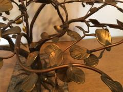 Harry Bertoia MODERNIST AND BRUTALIST BRONZE COPPER AND BRASS TREE SCULPTURE - 1073950