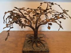 Harry Bertoia MODERNIST AND BRUTALIST BRONZE COPPER AND BRASS TREE SCULPTURE - 1073952
