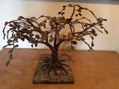 Harry Bertoia MODERNIST AND BRUTALIST BRONZE COPPER AND BRASS TREE SCULPTURE - 1073953