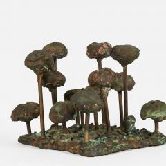 Harry Bertoia Melt Pressed Sculpture Untitled Poppies  - 193220