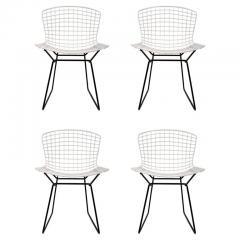 Harry Bertoia Set of 4 Harry Bertoia for Knoll Vintage Side Chairs - 1126513