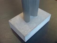 Harry Bertoia Wonderful Pair of Steel and Gypsum Sculptures by Harry Bertoia - 213832