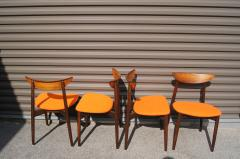 Harry Ostergaard Set of Four Rosewood Dining Chairs by Harry stergaard - 1607371