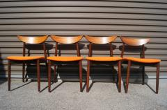 Harry Ostergaard Set of Four Rosewood Dining Chairs by Harry stergaard - 1607374