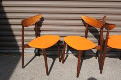 Harry Ostergaard Set of Four Rosewood Dining Chairs by Harry stergaard - 1607376