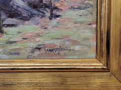 Harry W Newman Impressionist Landscape Oil Painting by Harry W Newman - 1215117
