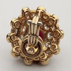 Harry Winston HARRY WINSTON DIAMOND RUBY 18KT EARRINGS - 1519518