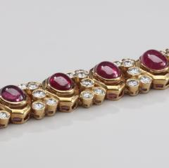 Harry Winston HARRY WINSTON RUBY DIAMOND 18KT BRACELET - 1519429