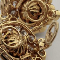 Harry Winston Unique Harry Winston Tahitian South Sea Pearls Diamond Necklace Earrings Set - 1519490