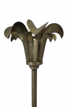 Hart Associates Brass Palm Frond Floor Lamps Hart Associates 1980 - 1621002