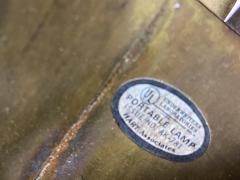 Hart Associates Brass Palm Frond Floor Lamps Hart Associates 1980 - 1621003