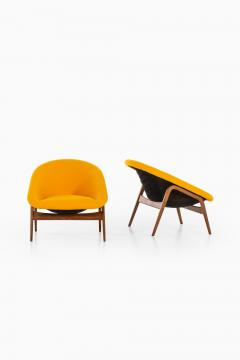 Hartmut Lohmeyer Easy Chairs Model Columbus Produced by Artifort - 1906585