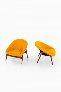Hartmut Lohmeyer Easy Chairs Model Columbus Produced by Artifort - 1906587