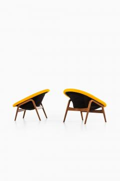 Hartmut Lohmeyer Easy Chairs Model Columbus Produced by Artifort - 1906589