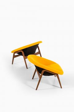 Hartmut Lohmeyer Easy Chairs Model Columbus Produced by Artifort - 1906590