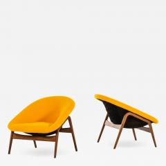 Hartmut Lohmeyer Easy Chairs Model Columbus Produced by Artifort - 1908019