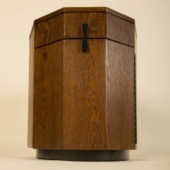 Harvey Probber A Mid Century Modern Decagon Cabinet by Harvey Prober circa 1950 - 2129155