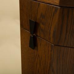 Harvey Probber A Mid Century Modern Decagon Cabinet by Harvey Prober circa 1950 - 2129156