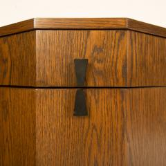 Harvey Probber A Mid Century Modern Decagon Cabinet by Harvey Prober circa 1950 - 2129158