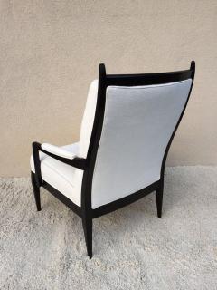 Merveilleux Harvey Probber Elegant High Back Club Chairs   114601