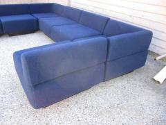 Harvey Probber Fabulous Seven Piece Signed Harvey Probber Cubo Sectional Sofa - 1262298