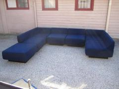 Harvey Probber Fabulous Seven Piece Signed Harvey Probber Cubo Sectional Sofa - 1262299