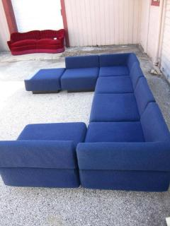 Harvey Probber Fabulous Seven Piece Signed Harvey Probber Cubo Sectional Sofa - 1262303
