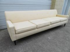 Harvey Probber Handsome Harvey Probber Style Four Seat Sofa Mid Century Modern - 1646047