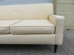 Harvey Probber Handsome Harvey Probber Style Four Seat Sofa Mid Century Modern - 1646057