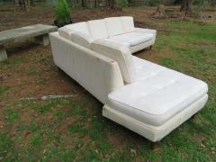 Harvey Probber Handsome Harvey Probber Two Piece Nuclear Sert Sectional Sofa Mid Century Modern - 1252579