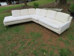 Harvey Probber Handsome Harvey Probber Two Piece Nuclear Sert Sectional Sofa Mid Century Modern - 1252604