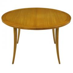 Harvey Probber Harvey Probber Bleached Mahogany Saber Leg Dining Table - 197846