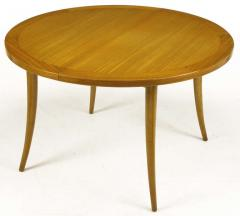 Harvey Probber Harvey Probber Bleached Mahogany Saber Leg Dining Table - 197847