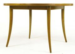 Harvey Probber Harvey Probber Bleached Mahogany Saber Leg Dining Table - 197851